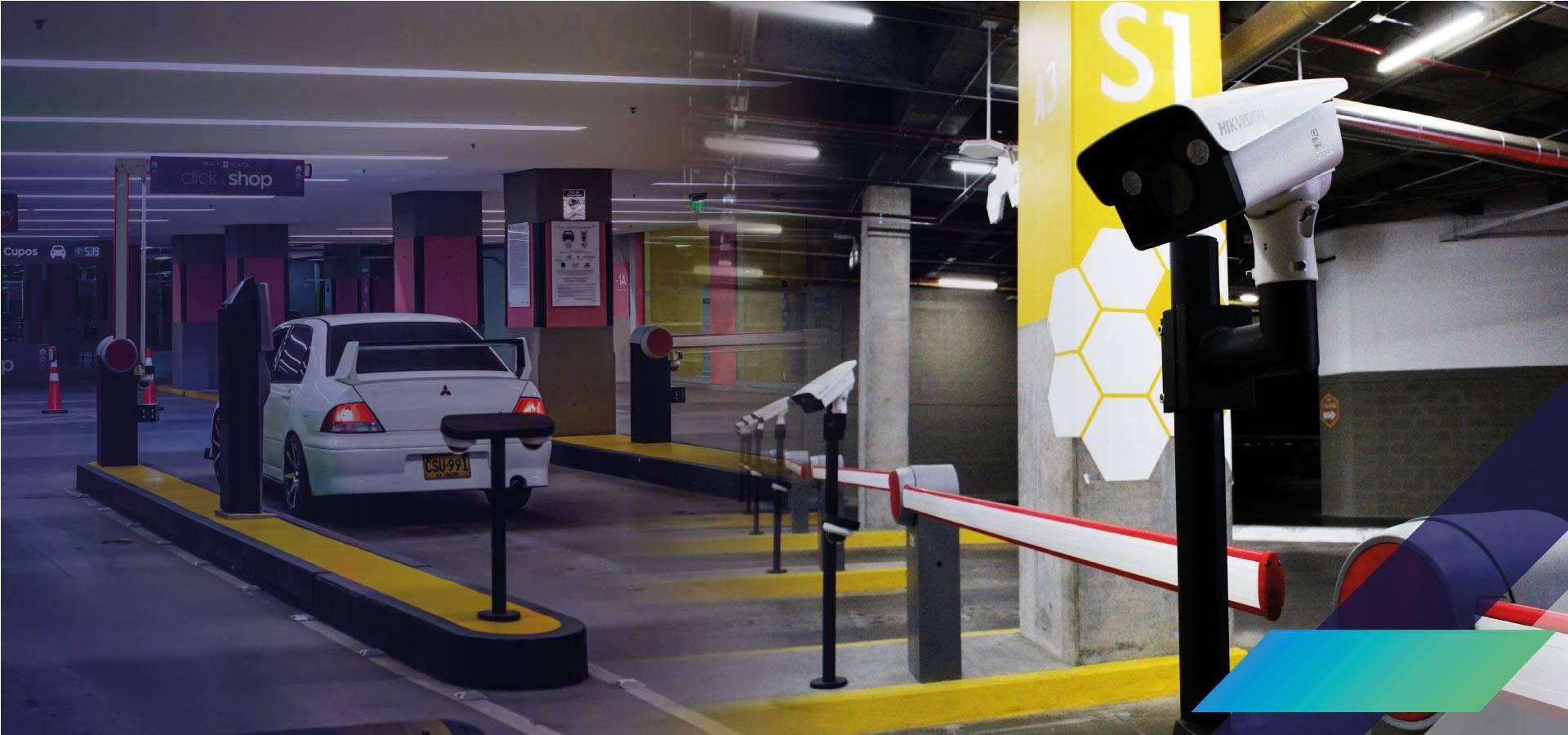 Automatización de parqueaderos y payment - EZYTEC